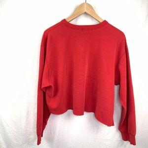 Calvin Klein Tops - Calvin Klein CK custom cropped sweatshirt size med